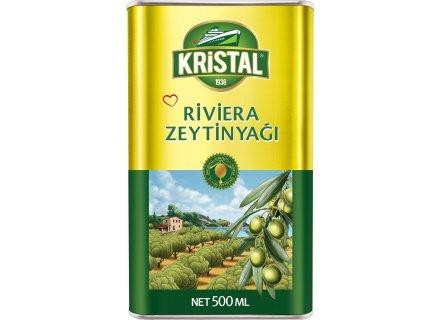 KRISTAL RIVIERA OLIJFOLIE 500ML