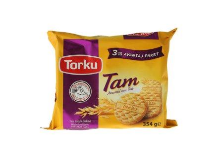 TORKU TAM YULAFLI BISKUVI 354G
