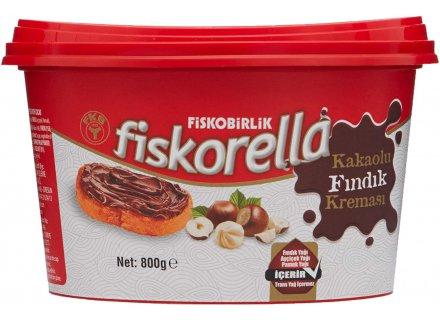 FISKO MELK HAZELNOOT PASTA 800G